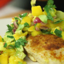 Salsa fresca de mango
